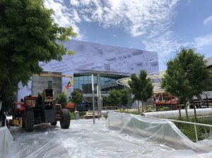 McEnery Convention Center Prepares for Monday's Apple WWDC kick off.jpg