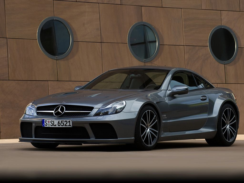 Mercedes Benz AMG SL65 Black