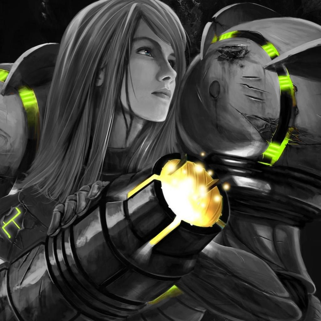 Samus (selective color)
