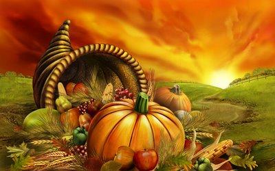 Free Thanksgiving iPad Wallpapers