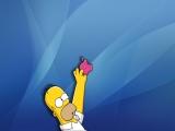 Simpsons Apple
