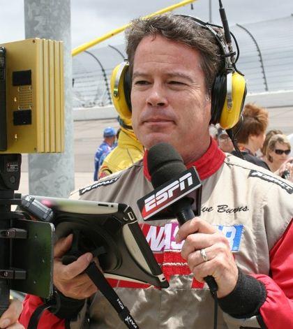 NASCAR reporter