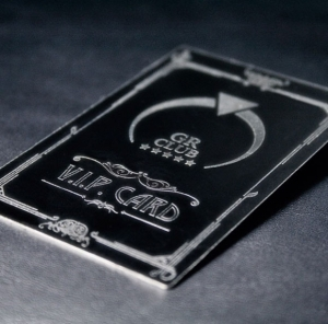 Using metal business cards